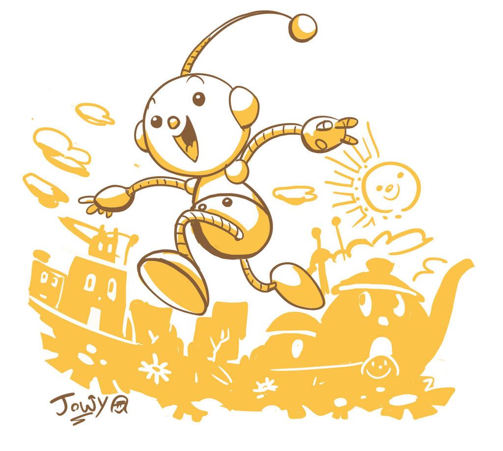June Toon robot by Jowybean