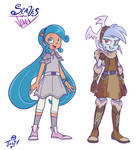 Project Scales and Jenny arc 1 designs