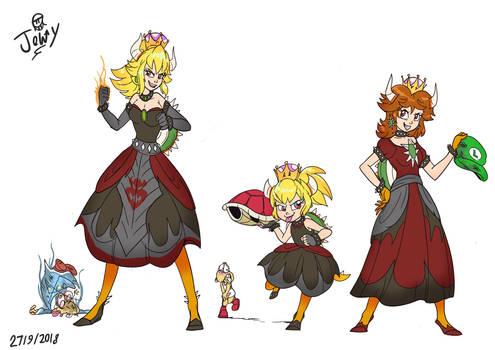 All Hail the koopa crown Queen 1 by Jowybean