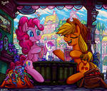 Slice of Equestria by Jowybean