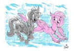 Maple Gleam and Silverstream