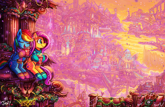 Slice of Equestria before the eve