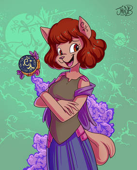 Flower Core universe character 4
