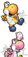 Just Some Yoshis by teh-yoshi