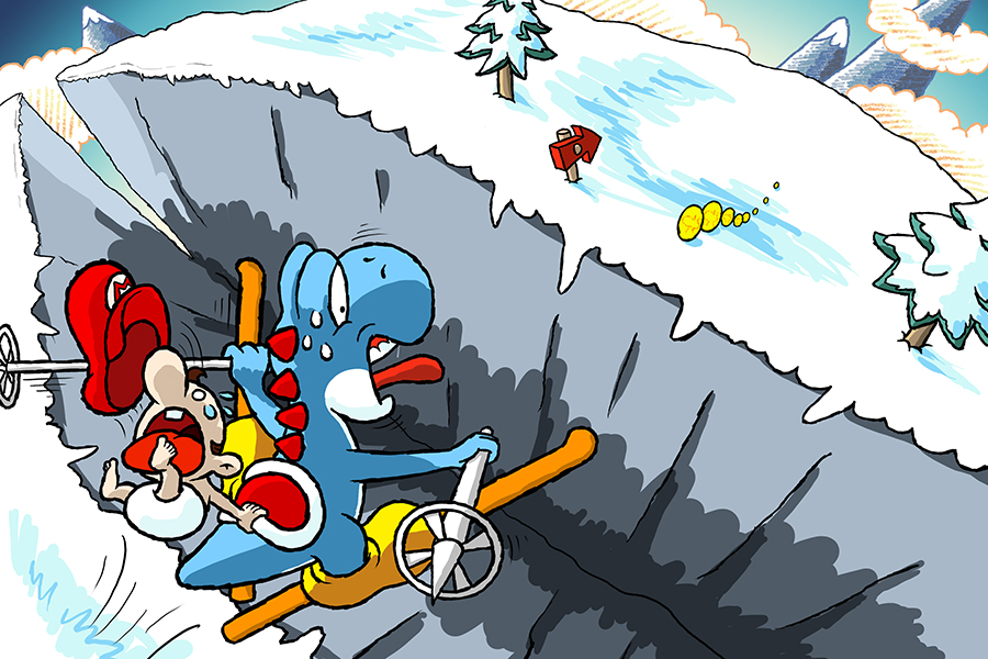 Winter Horrorland by teh-yoshi