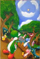 Yoshi's Island - The Beginning by teh-yoshi