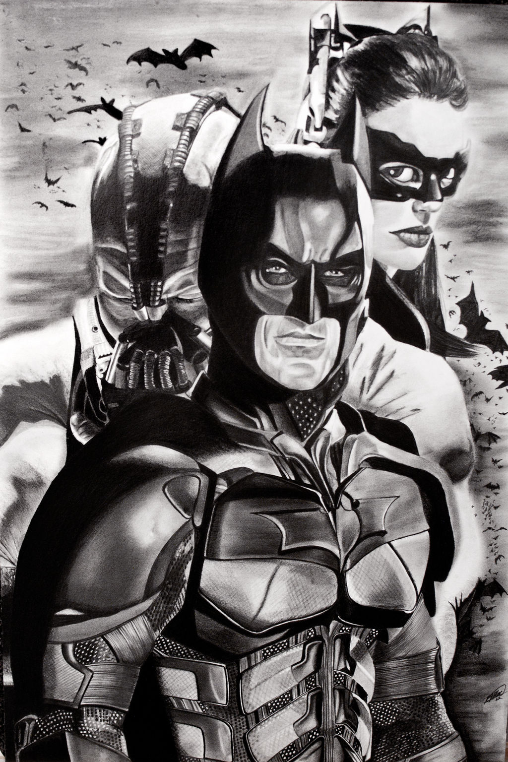 The Dark Knight Rises by bmac78