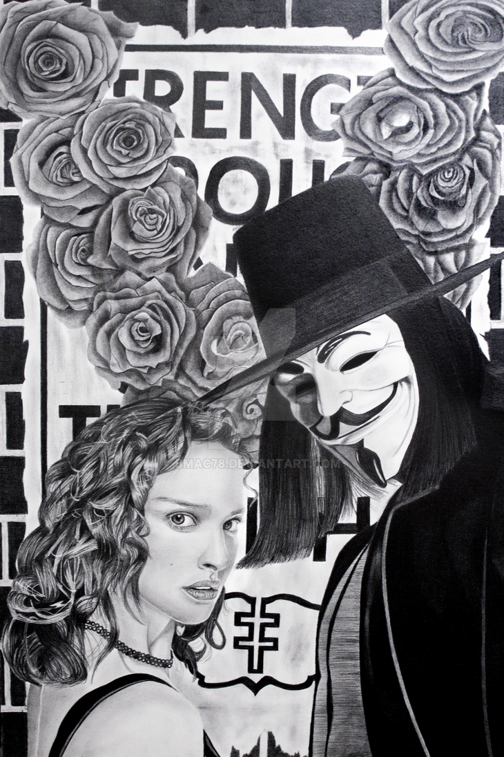 V for Vendetta by bmac78