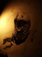 In progress Tom Hardy Bane by bmac78