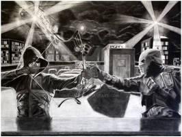Arrow vs. Deathstroke