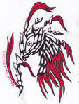 Inktober Drawing #27- Drapery in Armory
