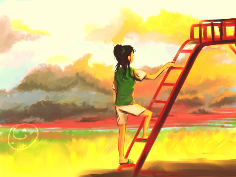 Freedom the moment from childhood by kafugi