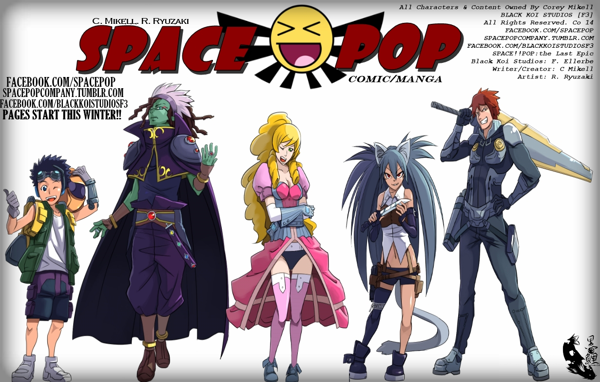 SPACE!!POP: the Last Epic Promo 4 by WickedIkorus
