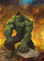 Hulk by evilfranco