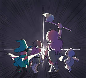 Deltarune by moread