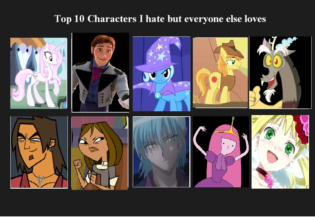 Anime Characters Everyone Hates : Top characters i hate but everyone loves by awesome