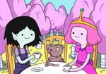 TEA TIME: with Marceline and Bubblegum Princess