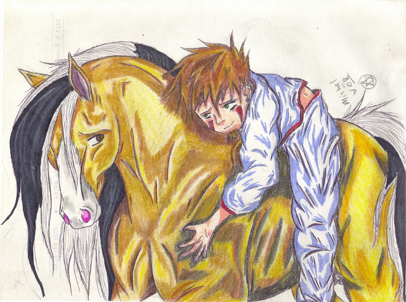 A Boy And His Horse By Mw-roach On DeviantArt