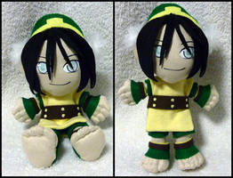 Toph Plushie by Jequila