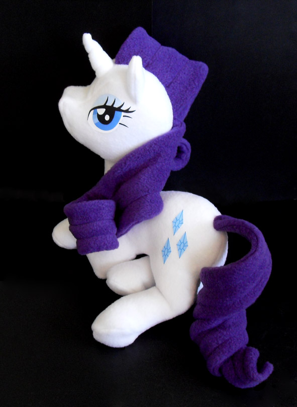 Rarity Plushie by Jequila