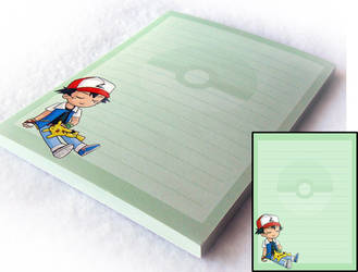 Pokemon Notepad by Jequila