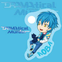 Aoba and Ren from Dramatical Murder charm