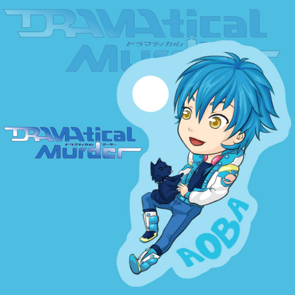 Aoba and Ren from Dramatical Murder charm by Jequila