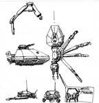 Robo spider concept drawing