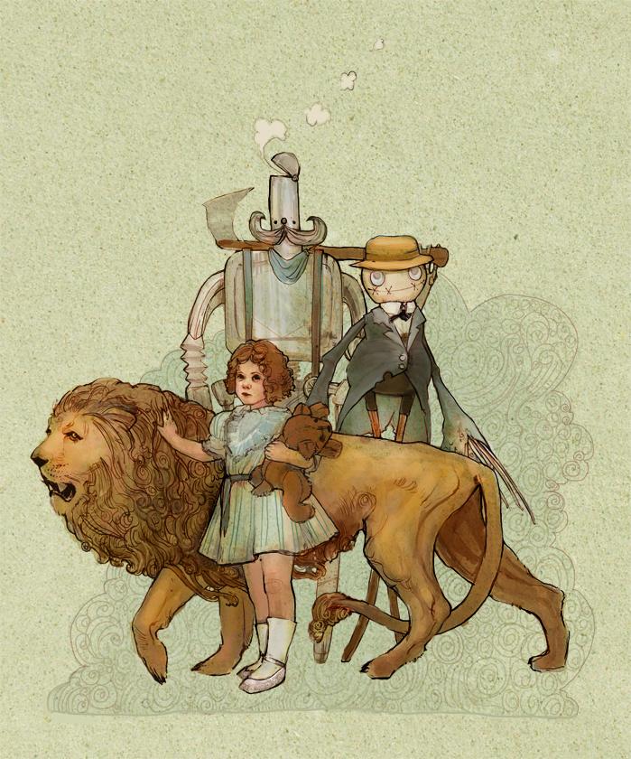Wizard of Oz by kiwikitty37