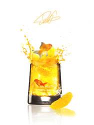 Goldfish orange juice