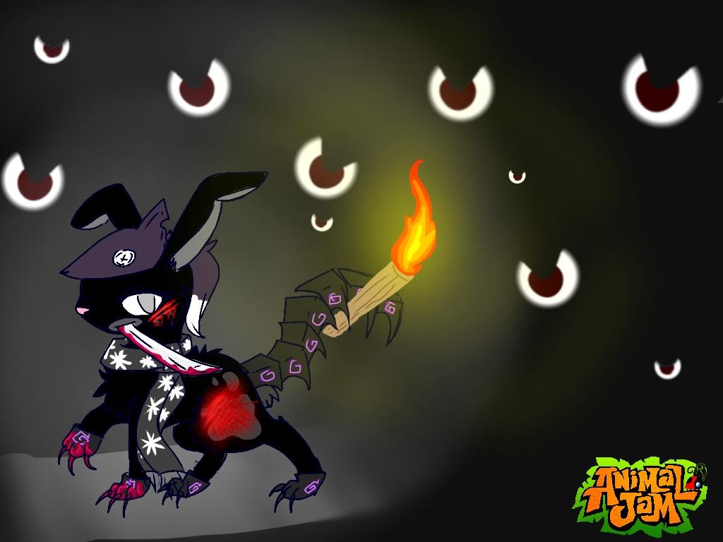 My Animal Jam Bunny By Warriorcatsluv4eva