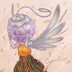 Angel Charm Doodle 2
