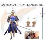 Andromaxis Erleveer Laestadius (Pathfin Character) by Linnerino