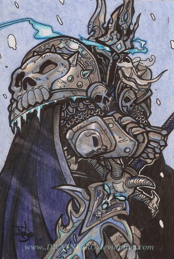 Prince Arthas by DwayneBro on DeviantArt