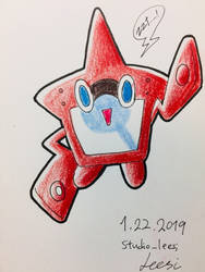 Rotom Dex by studio-leesi