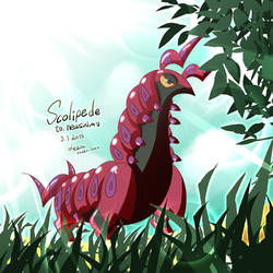 Scolipede(Requested) by studio-leesi