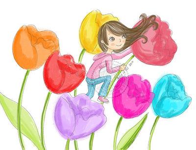 Trepando flores by aurangelica