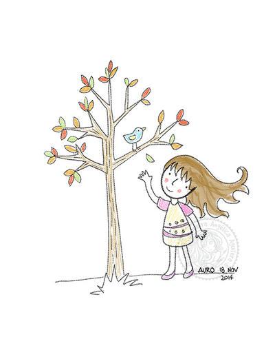 Birdie by aurangelica