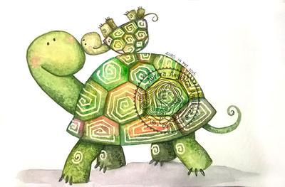 Turtles by aurangelica