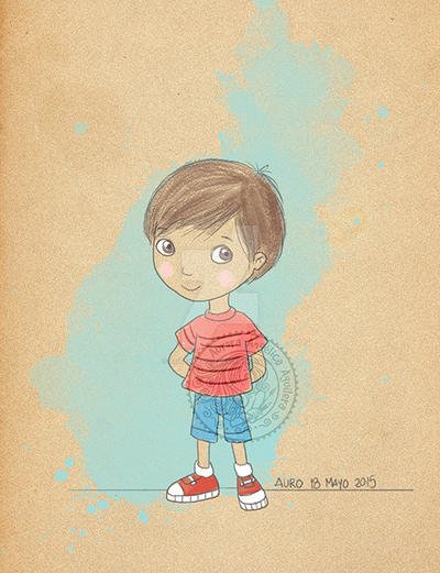 Boy by aurangelica