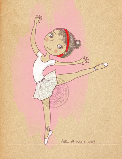 Ballet girl by aurangelica