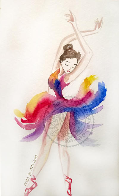 Colors Dancer by aurangelica