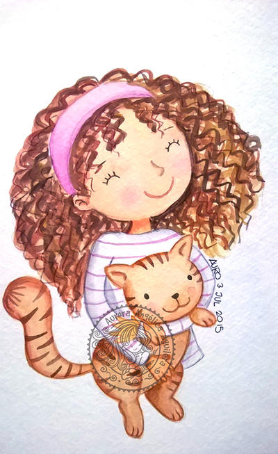 My little kitty 2 by aurangelica