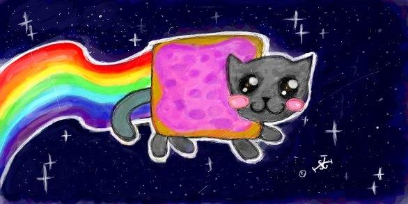 nyan Cat!:3 by Jakov-Jakov