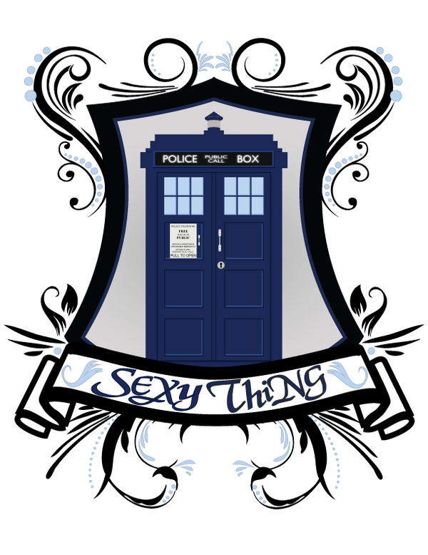 Sexy Thing TARDIS by NovaEmbersin