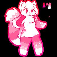 Pink Kittydog Adoption CLOSED by LitlleDemoncute