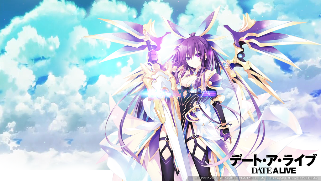 Wallpaper Date A Live: Tohka Yatogami By DavidNightmare On