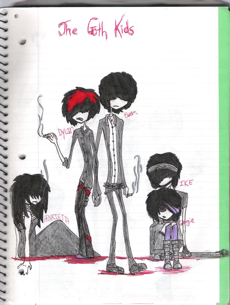 The Goth Kids by HollywoodGrimm