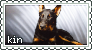 Dogkin Stamp 08 (Beauceron) by oceanstamps
