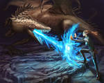 Cave Dragon Fight
